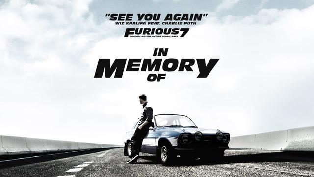 Sự ra đi của Paul Walker là yếu tố giúp Fast & Furious 7 thắng lớn ở phòng vé