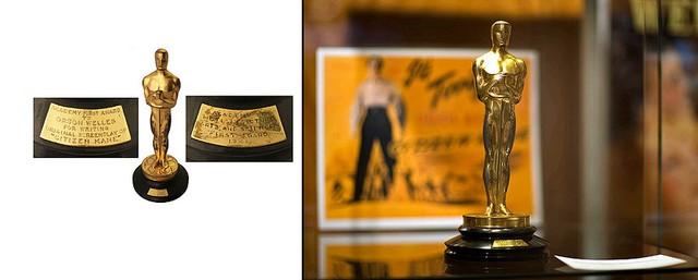 Đứng thứ 5 trong bảng xếp hạng là tượng vàng Oscar của Orson Welles - người giành giải thưởng Đạo diễn xuất sắc nhất với bộ phim đầu tay Citizen Kane năm 1942. Kỷ vật này được bán với giá 861.542 USD