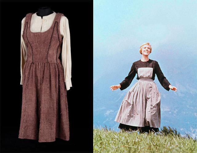 Chiếc váy Maria nữ diễn viên Julie Andrews mặc trong bộ phim Giai điệu hạnh phúc (1965) được mua lại với cái giá 676.500 USD