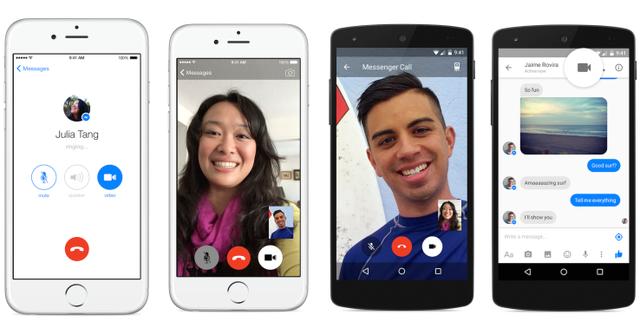 Tính năng hỗ trợ gọi video đã được cập nhật trên Facebook Messenger từ tháng 4