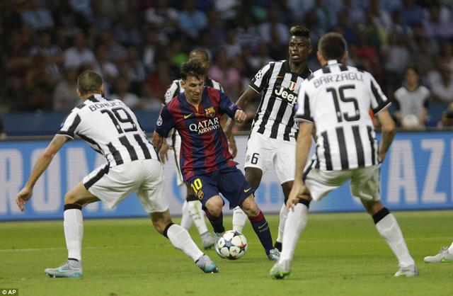 Messi tỏa sáng trong ngày ngôi sao người Argentina không ghi bàn mà lùi về phát động tấn công.