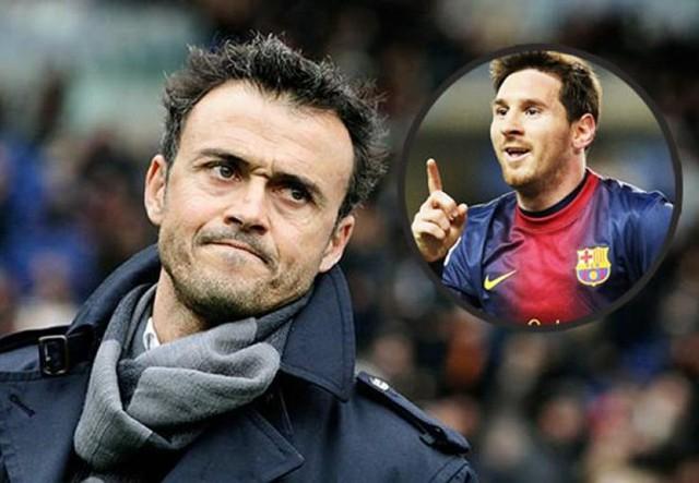 HLV Enrique khẳng định Messi sẽ không đi đâu mùa tới.