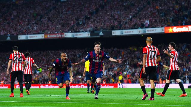 Siêu sao Messi dù đang gặp chấn thương vẫn được tờ Goal đánh giá cao nhất.