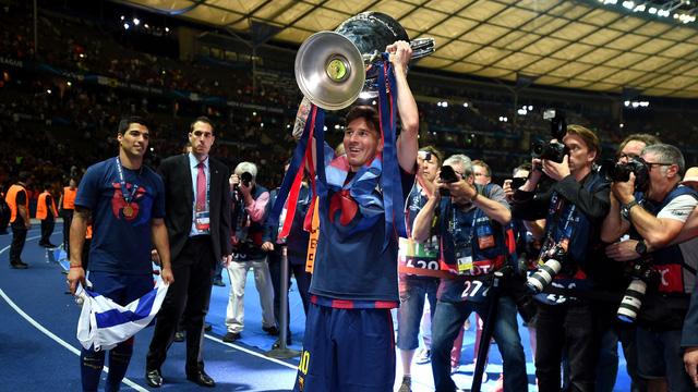 Messi đã có 4 danh hiệu trong năm 2015.