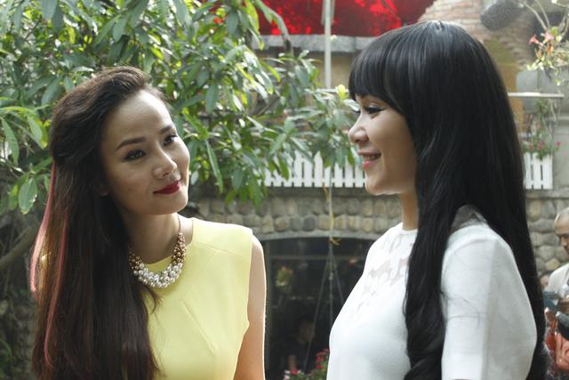 Người mẫu Dương Yến Ngọc (váy vàng) cũng sẽ tham gia bộ phim này.