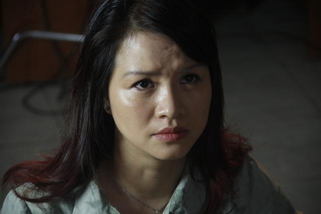 Diễn viên Thu Hạnh đảm nhận vai Quyên trong phim Trái tim người mẹ