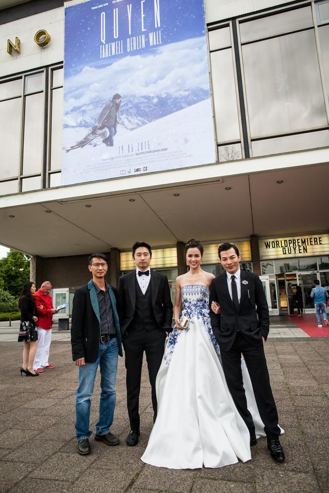 Phim Quyên đã chính thức ra mắt công chúng quốc tế vào tối 16/6 tại Berlin, Đức.