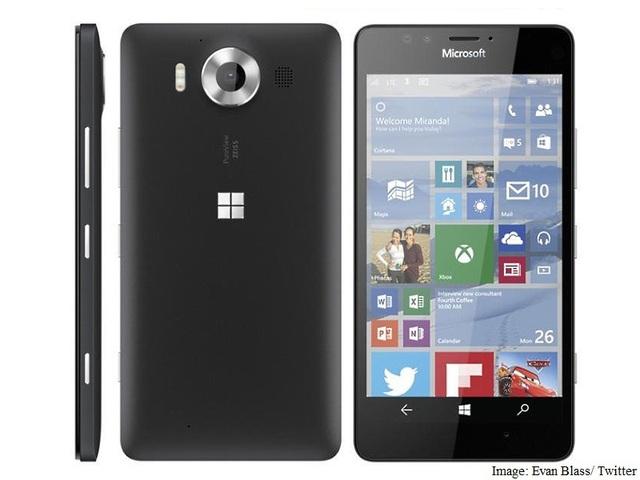 Ảnh rò rỉ của Lumia 950