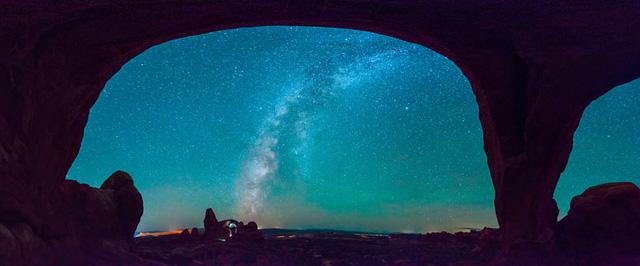 Công viên quốc gia Arches, Utah. Tác giả: David Toussaint