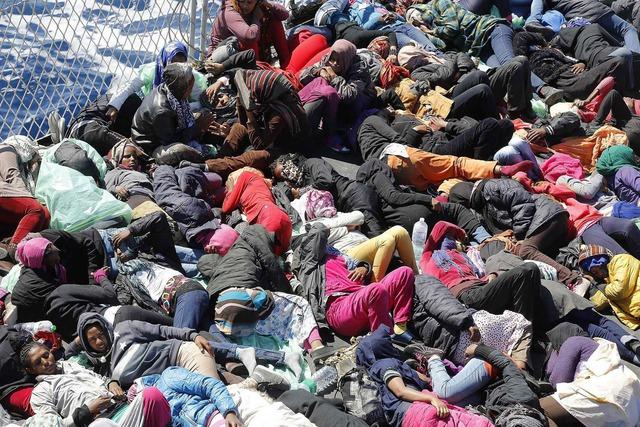 Nhiều người mạo hiểm cả tính mạng chỉ để đặt chân tới các trại tị nạn ở châu Âu