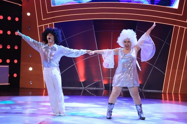 Minh Thảo nhảy disco cùng Lâm Vinh Hải
