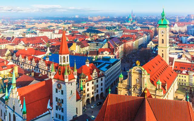 Thành phố Munich là điểm đến của lễ hội Oktoberfest, văn hóa Bavaria và thời trang cao cấp. Ảnh: AP/FOTOLIA