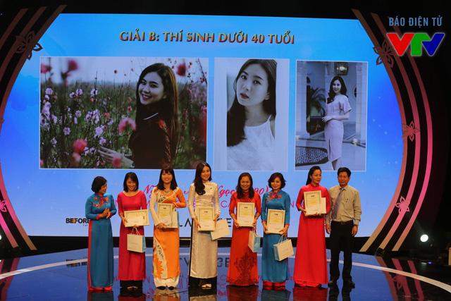 Các thí sinh đạt giải B của Miss VTV.