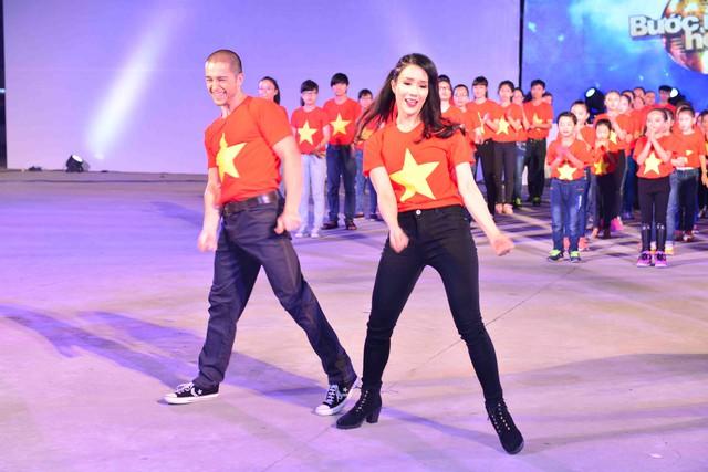 Lâm Diệp Anh và bạn nhảy Zhivko