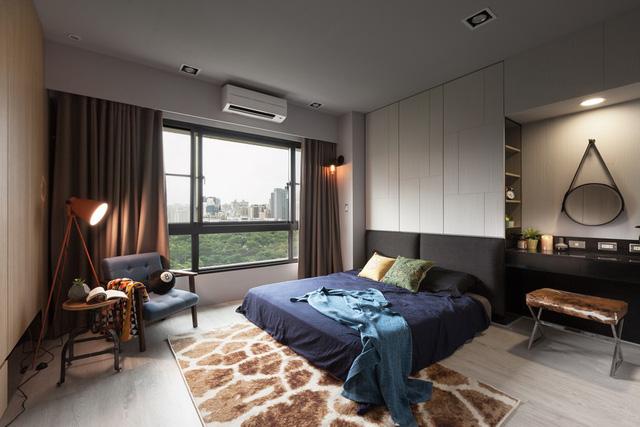 Phòng ngủ lớn nổi bật và cá tính