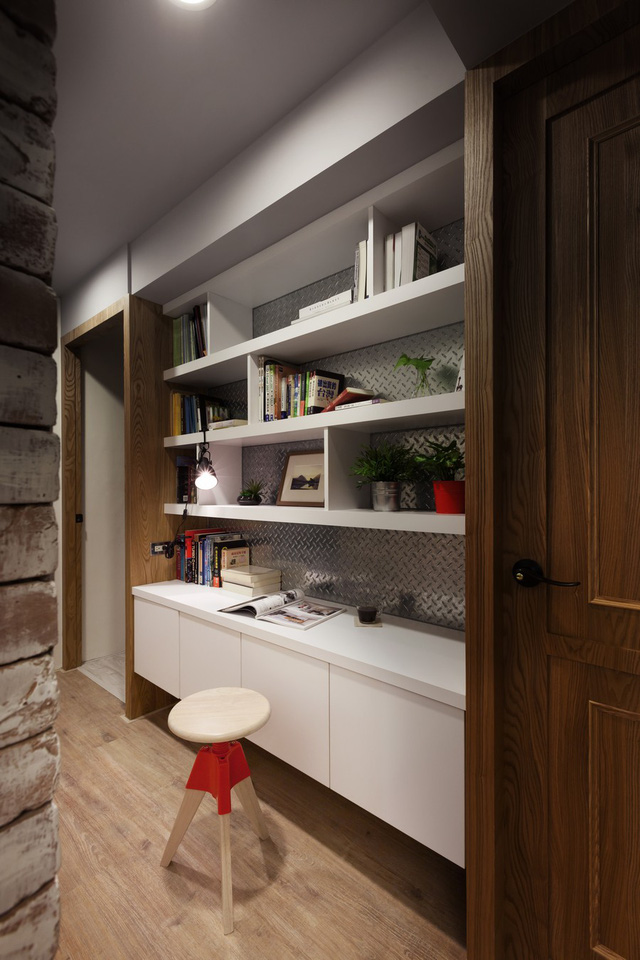 Từng khoảng không gian trong căn hộ đều được các KTS sử dụng một cách tối ưu