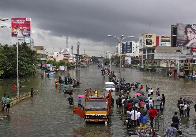 Đường phố ở Chennai.