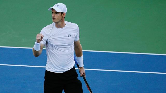 Murray đang thể hiện phong độ cao tại giải Mỹ mở rộng 2015.