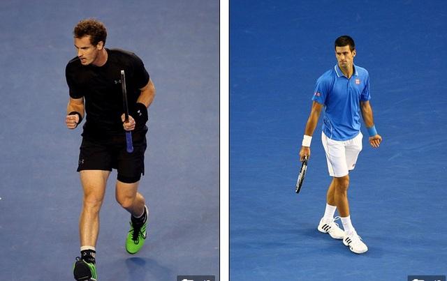 Hai tay vợt đã cống hiến màn so tài hấp dẫn, đặc biệt trong 2 set đầu tiên.