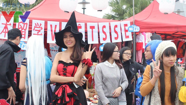 Lễ hội tập hợp rất nhiều các cosplay và các tín đồ truyện tranh Nhật Bản