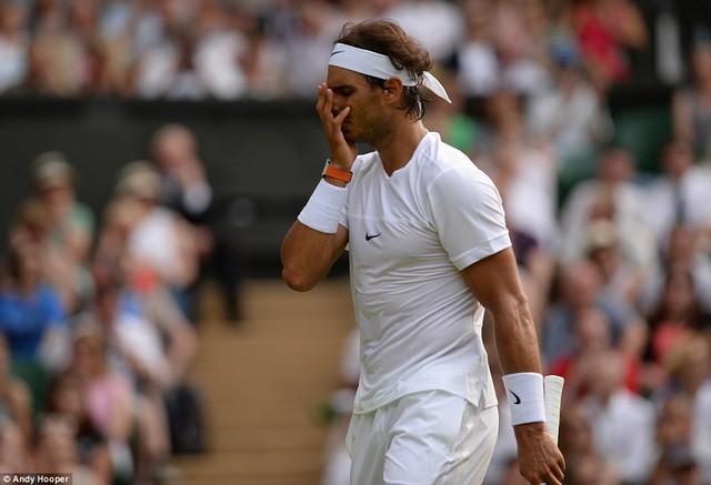 Nadal bị loại ngay ở vòng 2.