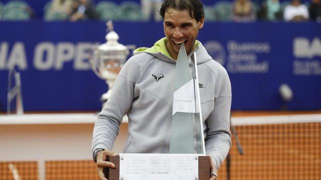 Nadal trở lại Top 3 sau chiến thắng tại Buenos Aires