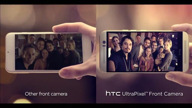 Ảnh chụp so sánh camera trước của HTC One M9 và smartphone khác