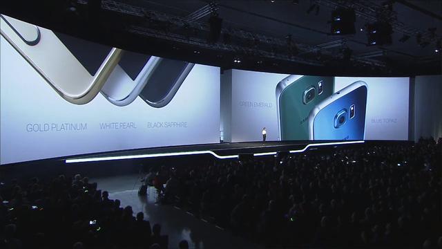 Bộ đôi Galaxy S6 có nhiều lựa chọn màu sắc khác nhau