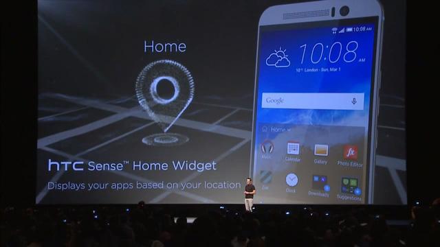 Giao diện HTC Sense 7 hỗ trợ nhiều tính năng mới trên chiếc HTC One M9