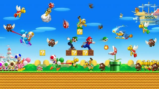 Chàng thợ sửa ống nước Mario đã trở nên đẹp hơn và sống động hơn trong phiên bản 3D
