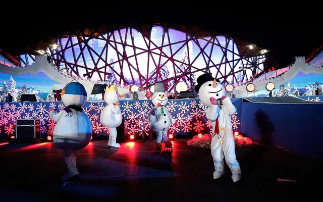 Đây cũng là dịp để Trung Quốc đẩy mạnh quảng bá về Olympic mùa đông sẽ diễn ra tại Bắc Kinh vào năm 2022