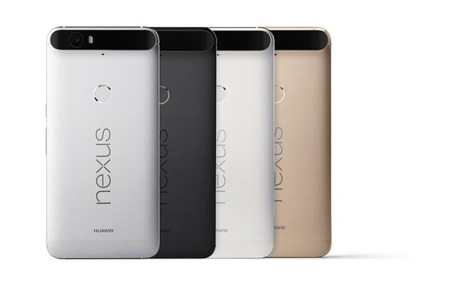 Nexus 6P sở hữu cụm camera sau ấn tượng