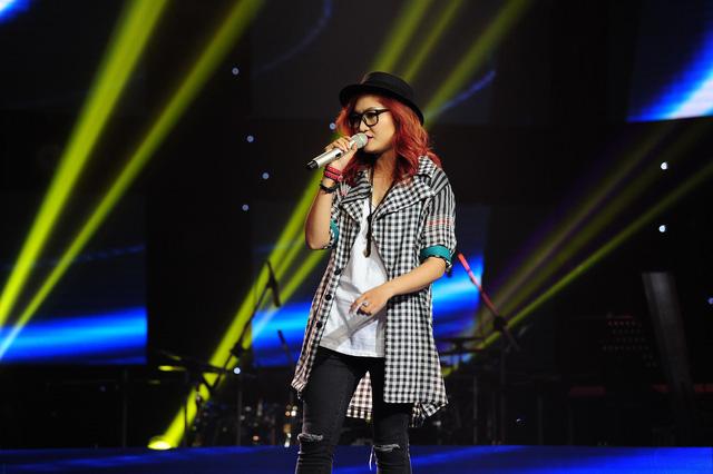 Vicky Nhung  - giọng ca cá tính của đội Đàm Vĩnh Hưng
