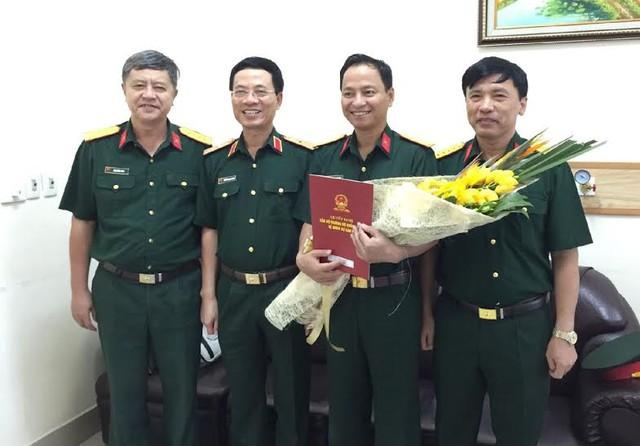 Đồng chí Nguyễn Đình Chiến nhận quyết định bổ nhiệm