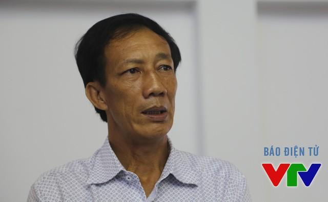 Ông Nguyễn Văn Hà, Phó Giám đốc Sở Văn Hóa, Thể Thao và Du Lịch tỉnh Bạc Liêu và cũng là Phó BTC VTV Cup 2015 trả lời phóng viên VTV News (Ảnh: Khánh Nguyễn/VTV News)