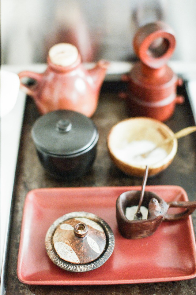 Kể cả các vật dụng được sử dụng hàng ngày cũng mang màu sắc đậm chất Bohemian.