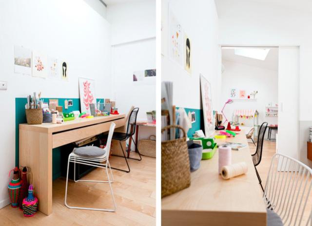 Phòng trẻ em càng được tô điểm nhiều màu sắc hơn để kích thích trí sáng tạo của trẻ nhỏ.