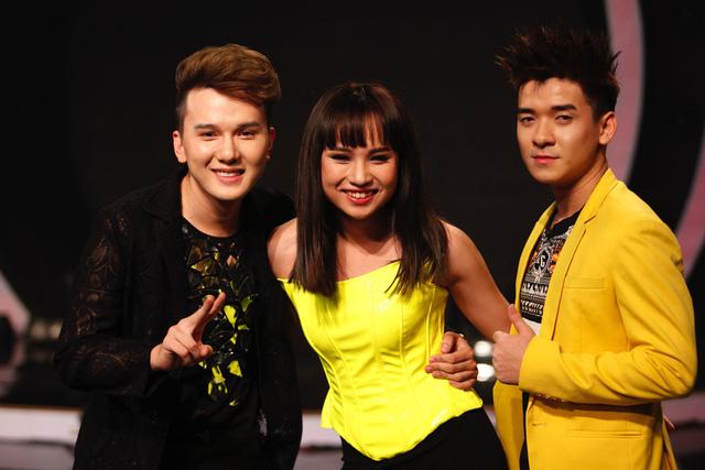 Ba học viên nhóm xuất sắc được trình diễn trong đêm liveshow Kết quả