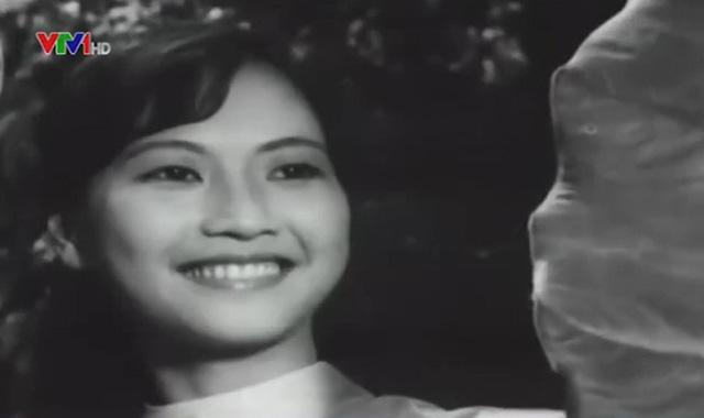 Hình ảnh xinh đẹp thời trẻ của NSND Như Quỳnh trong bộ phim Bài ca ra trận.