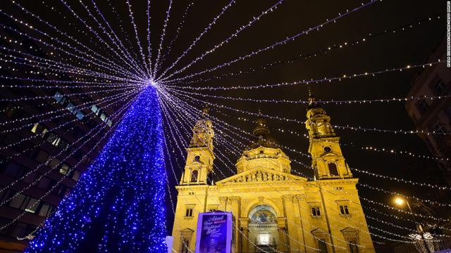 Nhà thờ St. Stephan Basilica ở Thủ đô Budapest, Hungary