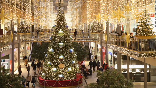 Một trung tâm mua sắm ở Berlin (Đức)