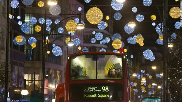 Một góc phố ở London (Vương quốc Anh)