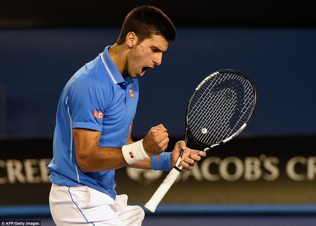 Nhưng hôm nay là ngày của Nole. Tay vợt người Serbia đã có màn trình diễn chói sáng ở 2 set cuối.