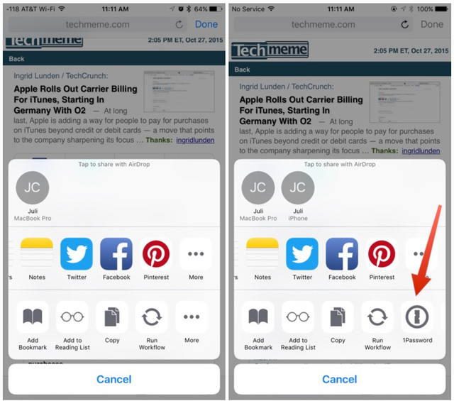 iOS 9.2 mang tới nhiều thay đổi trên Safari View Controller