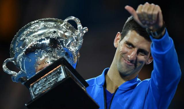 Novak Djokovic vô địch Australian Open 2015
