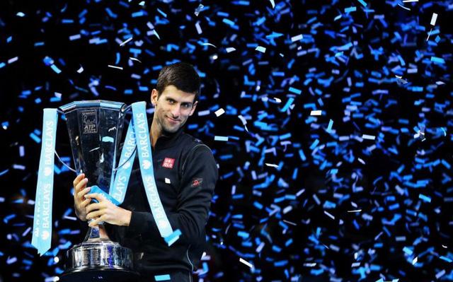 Nole với chức vô địch ATP World Tour năm 2014