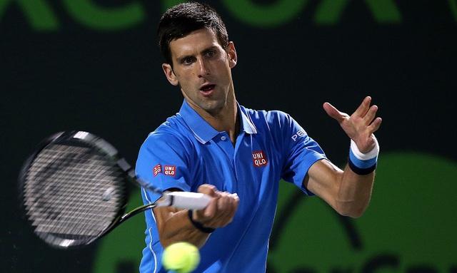 Novak Djokovic đã lọt vào vòng bán kết Miami Open 2015