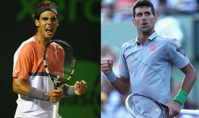 Nadal và Novak Djokovic ở cùng nhánh đấu tại Monte - Carlo Master năm nay.
