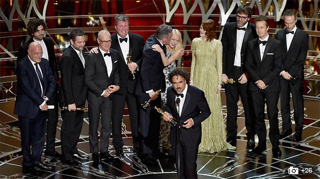 Và Birdman cũng giành giải cao nhất - Phim xuất sắc của Oscar lần thứ 87.