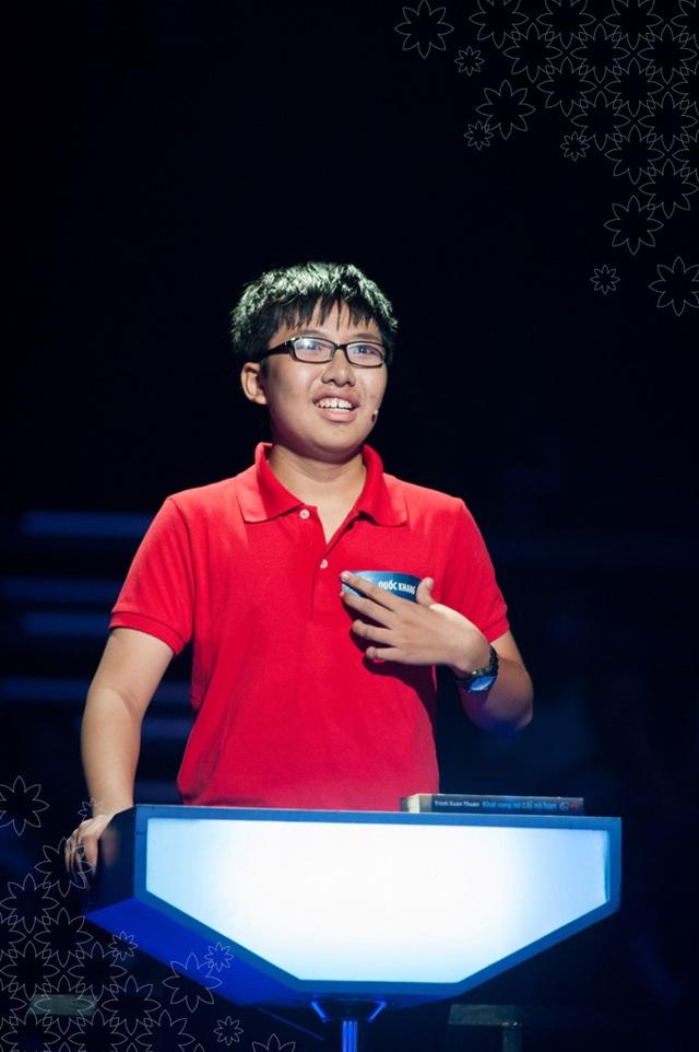Thí sinh Nguyễn Quốc Khang